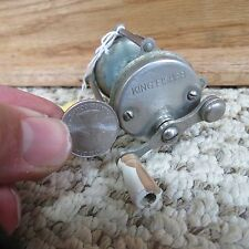 King Fisher  Raised pillar fishing reel (lot#7388)