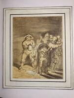 Johann STRIXNER (1782-1855) INCUNABLE Litho L. BRAMER CLAIR OBSCUR MÜNCHEN 1810