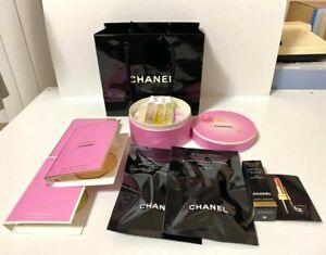 BRAND NEW, UNUSED Chanel Perfume & Makeup Set - 6 Mini Sprays, Mascara, Lipstick