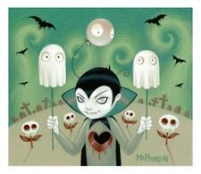 GEORGE HALLOWEEN PORTRAIT PRINT SIGNED BY TARA MCPHERSON