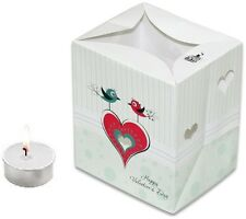 "CANDLE BAGS ""TWO LOVE BIRDS"" - 5 Pack"