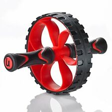 Ab Roller Wheel Core Exercise Tool w/ Non Slip Grip for Toning Abdominal Muscles