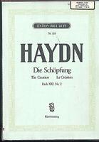 """HAYDN - """" Die Schöpfung """"  Klavierauszug ( Klengel )"""