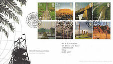 21 APRIL 2005 WORLD HERITAGE SITES ROYAL MAIL FIRST DAY COVER BUREAU SHS (x)