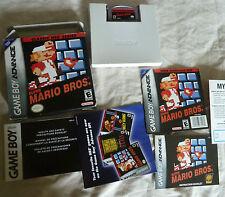 Super Mario Bros classic NES series complete in box Nintendo Game Boy Advance