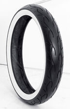 "Vee Rubber Tire Wide White Wall Tire 23"" 130-50B for Harley Touring"
