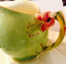 "RARE GREEN PITCHER  by ROYAL WINTON ""TIGER LILLY"""