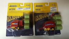NEW HOLLAND LOT OF 2 BALERS RB560; &  BR7090  PLUS  BALES 1:64  ERTL NEW SALE!