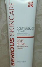 NEW Large 4 oz. Serious Skincare Youth & Adult Continuously Clear Cleanser SSC