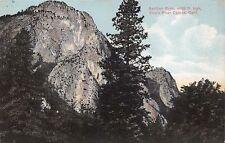 KINGS RIVER CANYON CALIFORNIA SENTINEL ROCK 4000 FT HIGH POSTCARD 1912