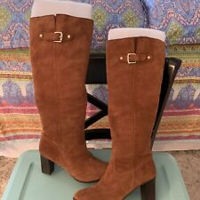 Michael Kors Shoes Suede Tall Long Boots . Color: Rust/Cognac  Size 9