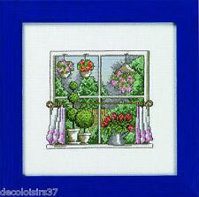 Permin  12-4440  Les Saisons  Le Printemps à la fenêtre  Point de Croix  Compté