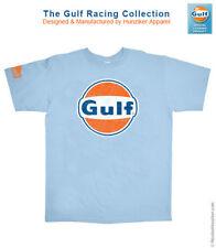 Gulf Racing Logo Graphic Tee-shirt by Nicolas Hunziker - Sizes S-M-XL-3XL