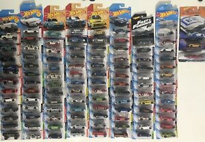 Hot Wheels Assorted Lot Of 100+ Vehicles 2017+