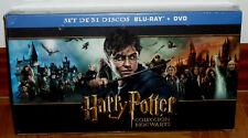 HARRY POTTER COLECCION HOGWARTS 31 DISCOS-BLU-RAY+DVD+3D+EXTENDIDAS PRECINTADO