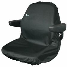 Tractor Seat Cover-LARGE Black WATERPROOF/WASHABLE