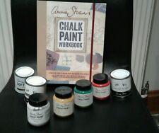Annie Sloan Kit -1 Cepillo + 2 Potes De Pintura + 2 Ceras + Libro De Annie Sloan