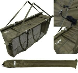 NGT XPR FLOATING WEIGH SLING CARP FISHING WEIGHING RETAINER SLING WITH CASE