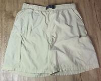 Nike ACG Belted Outdoor Hiking Zipper Cargo Pockets Khaki Shorts Size XL