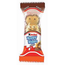 140 Riegel Ferrero Kinder Happy Hippo Cacao a 20g Orginal 5 Karton a 28 Riegel
