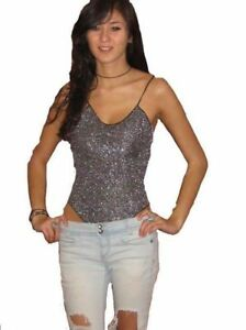 Sparkle Lurex Leotard/Body./Top UK Size 6-10