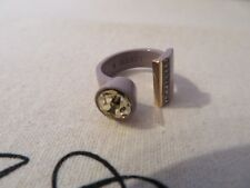 NEW J.CREW  GEOMETRIC RING, SIZE 6 AND 7, MURVE BLUSH