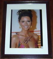 FLASH SUPER SALE! Shania Twain Signed Autographed 11x14 Photo GAI GA GV COA!