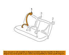 TOYOTA OEM Solara Rear Seat Belt-Belt & Buckle Retractor Right 7336006100A0