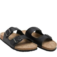 French Connection Mens Sandals, Black, UK 9, New