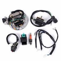 For 50-125cc Kick Start Dirt Pit Bike Wire Harness Wiring-Loom CDI Coil 4-Stroke