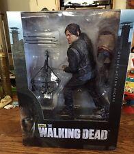 10-Inch Daryl Dixon Walking Dead Deluxe Action Figure Amc Mcfarlane Rare Htf