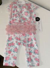 NWT Nicole Miller Girls 3 Piece Set 3 / 6 M