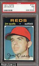 1971 Topps SETBREAK #731 Jim Qualls Cincinnati Reds PSA 7 NM