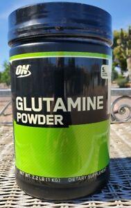 Optimum Nutrition Glutamine Powder  Unflavored 2.2 lbs *Expired* see description