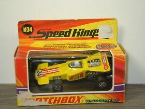 Thunderclap - Matchbox Speed Kings K-34 England in Box *53520