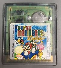 juego gameboy color GBC super mario bros deluxe original