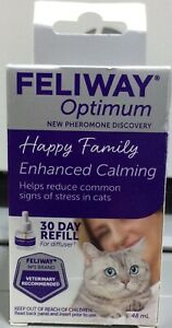 Feliway Optimum 30 Day Refill For The Diffuser 48 ML