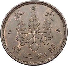 Pièces de monnaie d'Asie, provenance Japon