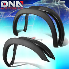 FOR 94-02 DODGE RAM PAINTABLE BLACK ABS 4PCS WHEEL FENDER FLARES FACTORY STYLE