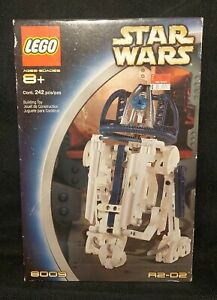 New Sealed Lego Star Wars Technic R2-D2 #8009
