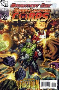 Green Lantern Corps #57A KIRKHAM VF 2011 Stock Image