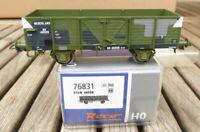 Roco 76831 H0 Offener Güterwagen in Tarnfarbe USTC der NS II.WK. Epoche 2 b - 3