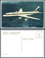 Airplane / Plane - Delta DC-8 Fanjet Postcard -N25