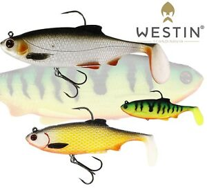 Westin Fishing Lure Ricky The Roach RNR Rigged 'n' Ready All Sizes Soft Plastic