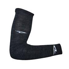 DeFeet Armskin Wool D-Logo Charcoal Cycling/Running/Hiking Arm Warmers,ARMWC,XL