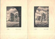 crv 50 -TRIESTE - 6 stampe di Dandolo Bellini - Serie Italia monumentale