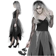 Disfraz De Novia cementerio señoras cadáver Zombie Halloween Disfraz Fantasma no-muertos