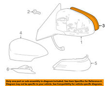 Toyota Oem 13-15 Avalon Door Rear Side View-Mirror Glass Right 8790207030