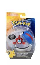 Pokemon Clip N Carry Great Ball with Rotom Pokedex Action Figure Toy