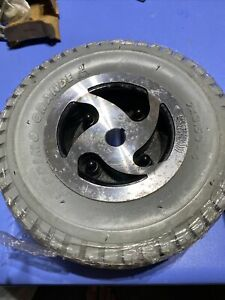 Solid rubber tire wheel for Hoveround MPV5 Electric Wheel chair mobility scooter